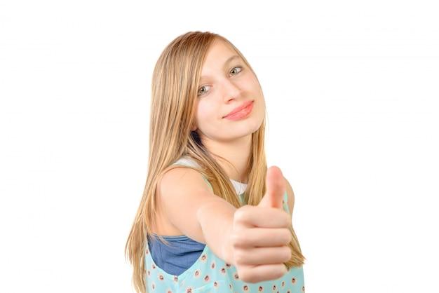 Portrait d'un adolescent est ok