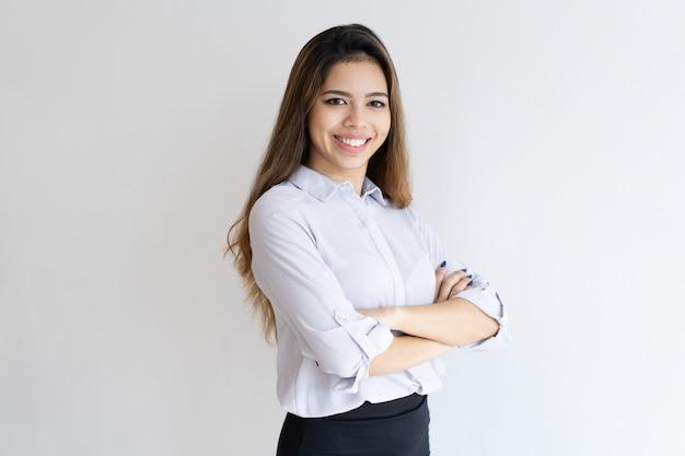 Portrait d'agent de vente réussi