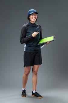 Portrait arbitre féminin