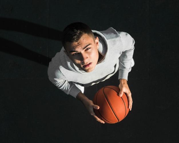 Portrait de basketteur