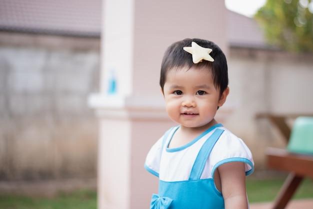 Portrait de bébé mignon souriant, concept de bébé
