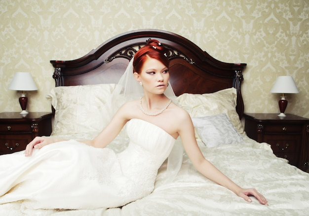 Portrait belle mariée