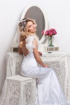 Portrait de la belle mariée.