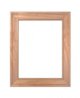 Portrait en bois ancien cadre en bois vertical