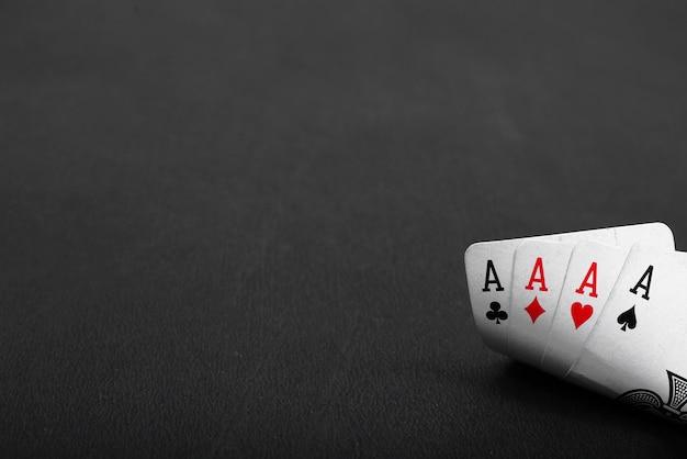 Portrait de carte à jouer.