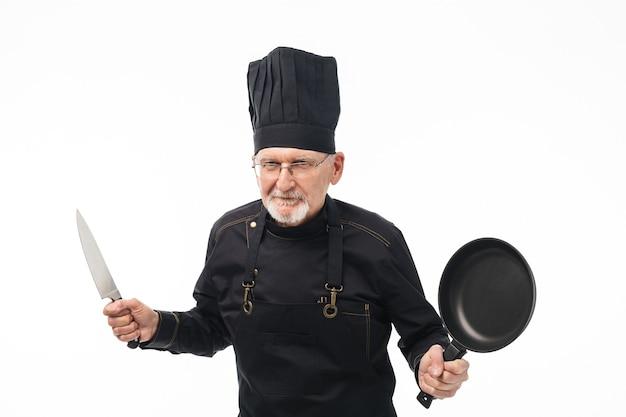 Portrait de chef de vieil homme