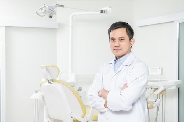 Portrait, dentiste