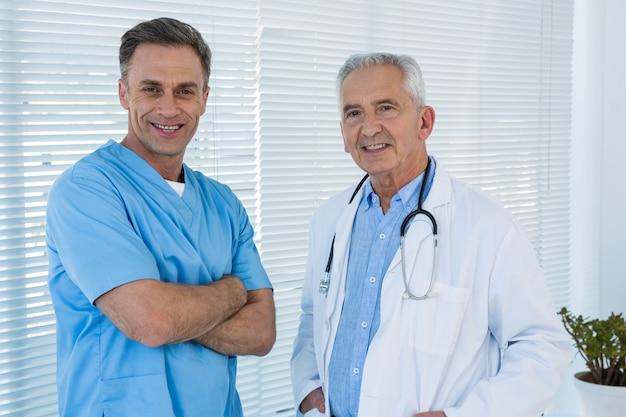 Portrait, docteur, chirurgien