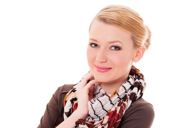 Portrait d'élégance jeune femme
