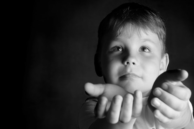Portrait d'un enfant