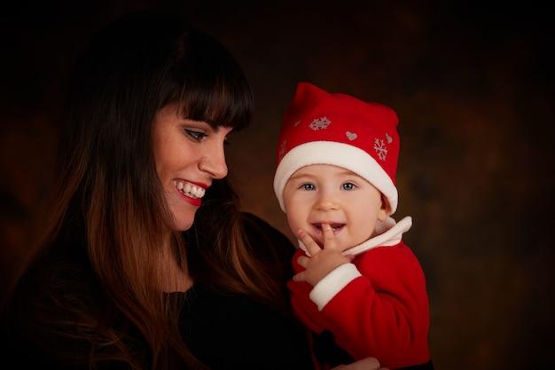Portrait de famille en décembre