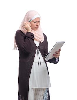 Portrait femme musulmane