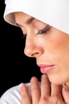 Portrait de femme musulmane