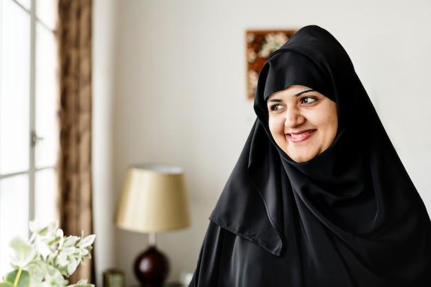 Portrait d'une femme musulmane