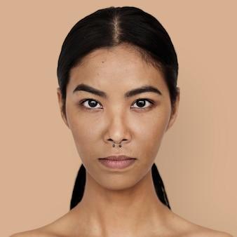 Portrait d'une femme thaïlandaise
