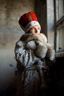 Portrait d'hiver froid