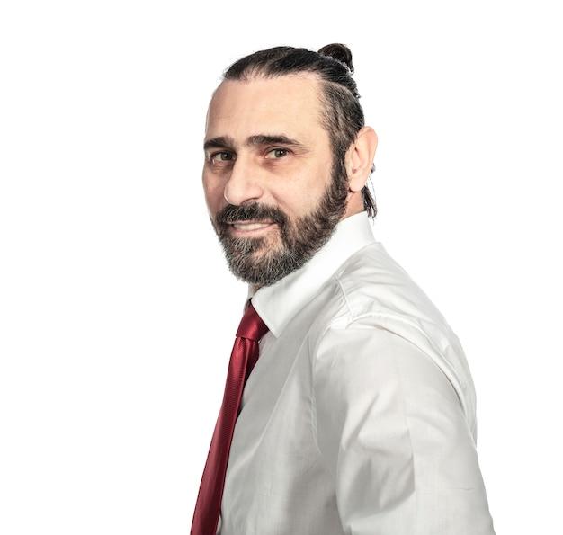 Portrait d'homme d'affaires caucasien