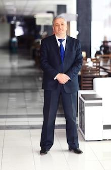 Portrait d'un homme d'affaires mature