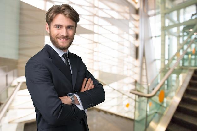 Portrait d'homme d'affaires