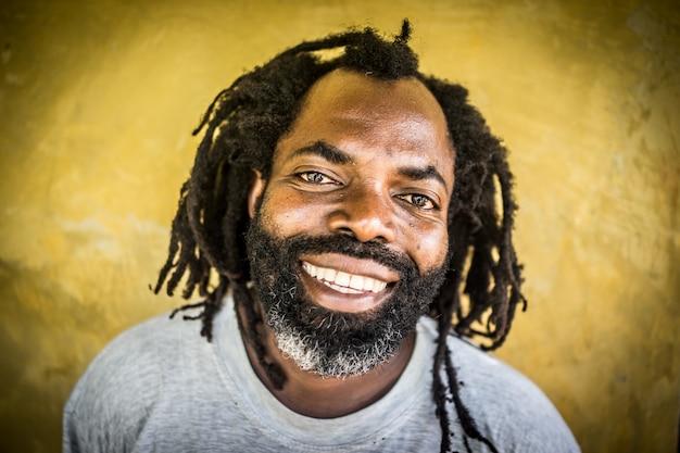 Portrait d'homme africain