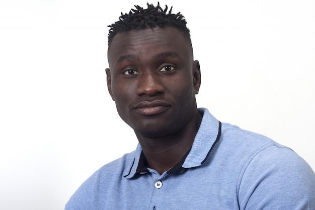 Portrait d'un homme africain