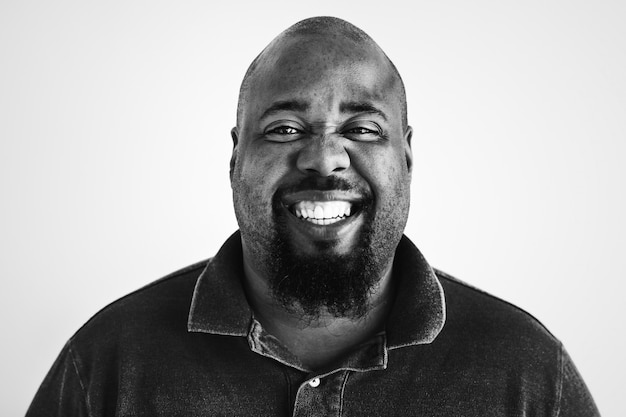 Portrait d'un homme afro-américain