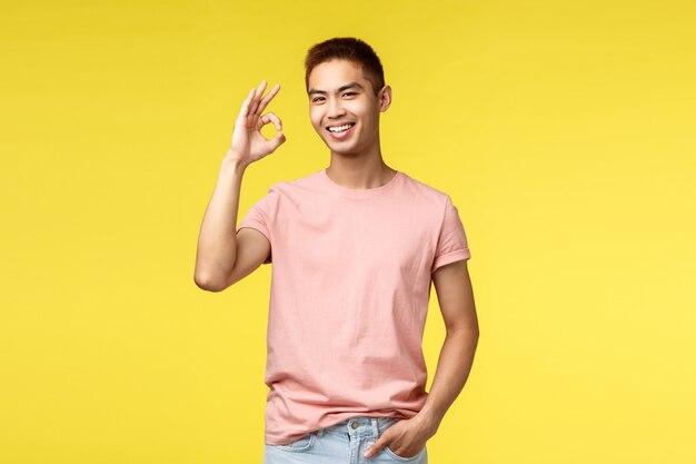 Portrait d'un homme asiatique