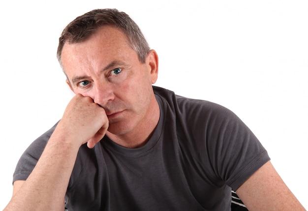 Portrait d'un homme aux yeux bleus