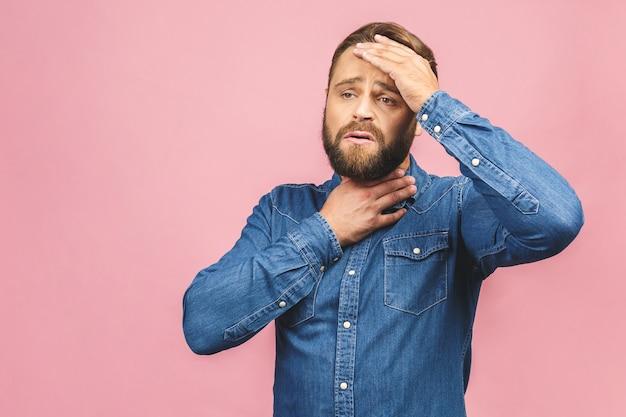 Portrait homme barbu