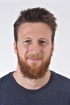 Portrait d'un homme blanc