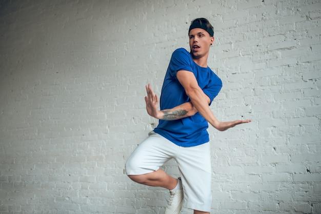 Portrait homme danse