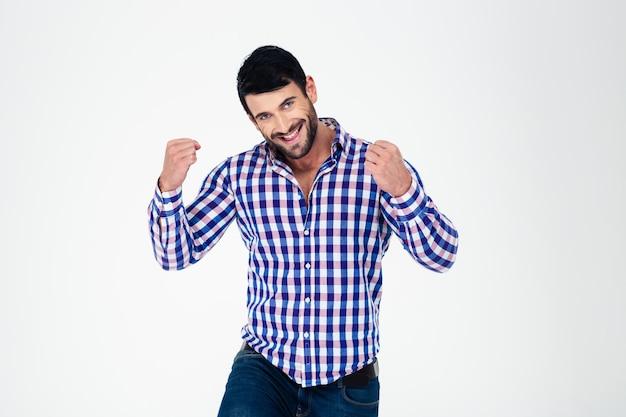 Portrait d'un homme heureux