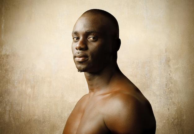 Portrait d'un homme noir
