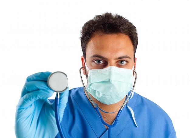 Portrait d'infirmière