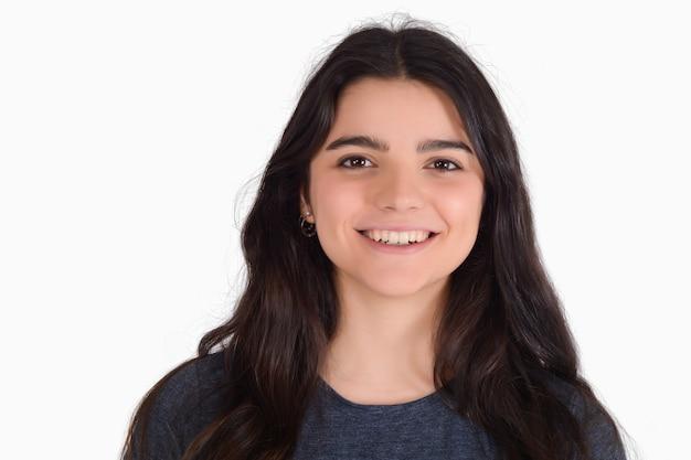 Portrait de jeune femme latine