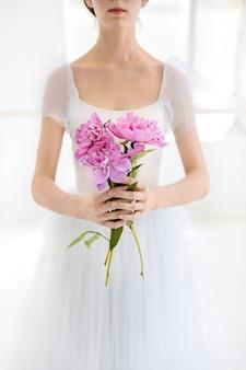 Portrait d'une jeune mariée