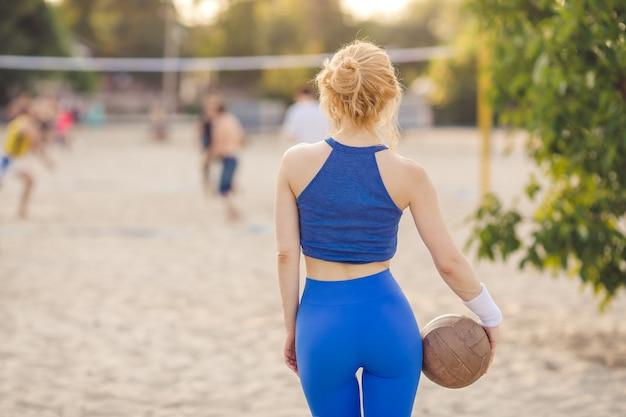 Portrait de joueur de volleyball