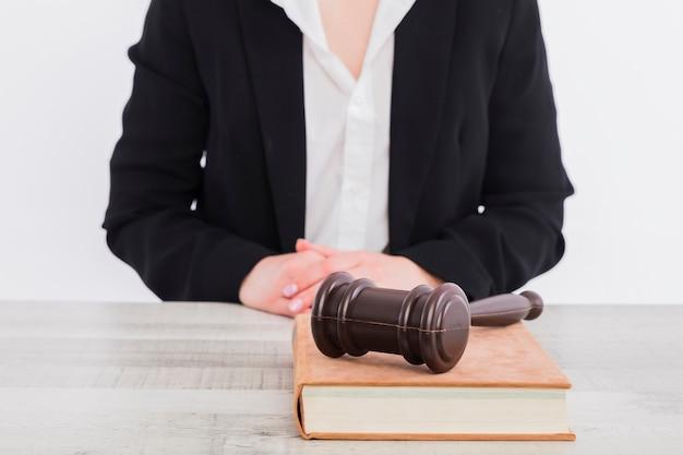 Portrait de juge