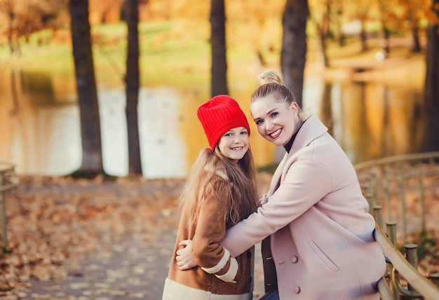 Portrait maman et sa fille