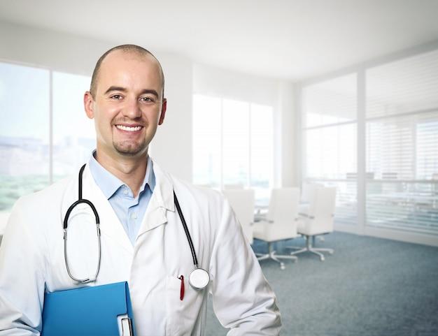 Portrait de médecin