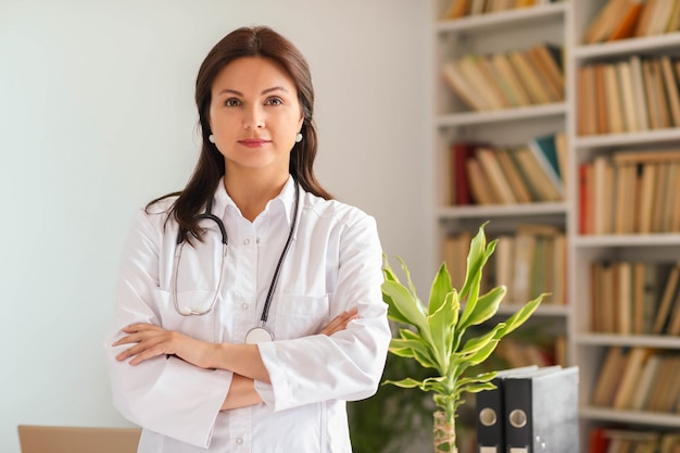Portrait d'un médecin