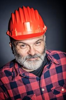 Portrait d'ouvrier