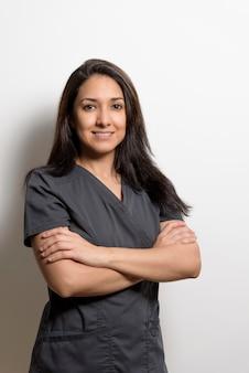 Portrait d'un professionnel de la santé, dentiste, médecin, infirmière, assistant