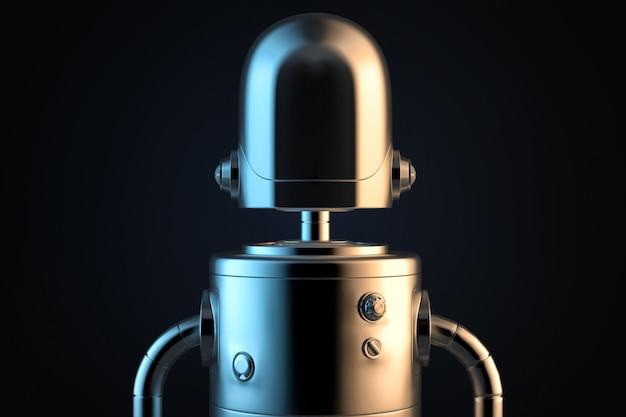 Portrait de robot.