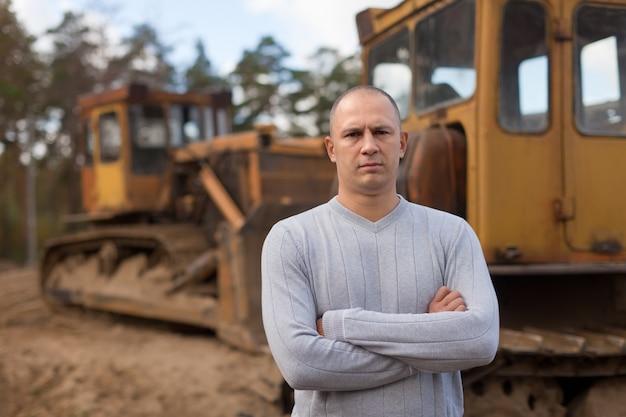 Portrait de tracteur