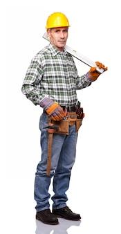 Portrait de travailleur