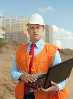 Portrait de travaux de construction