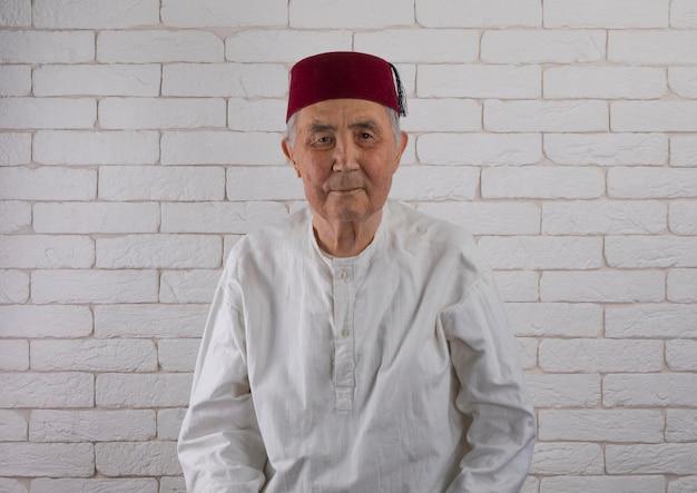 Portrait d'un vieil homme turc