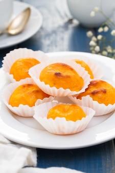 Portugais castanhas de ovos