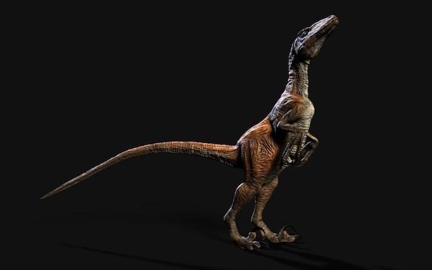 Pose de deinonychus antirrhopus les dinosaures les plus emblématiques et représentatifs
